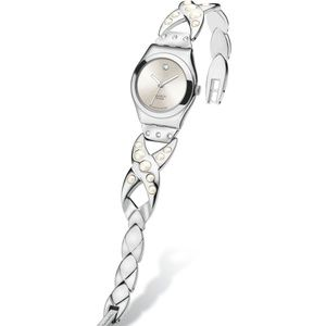 Swatch COLOUR DEW Vintage Pearl Watch - Irony Lady